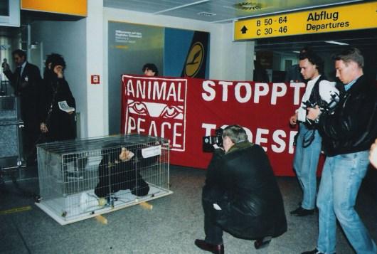 Tierversuche Lufthansa