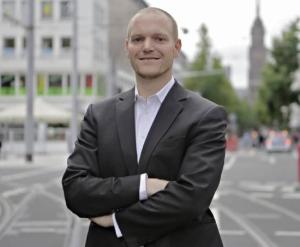 Sven Fucker tritt bei der OB-Wahl für die Tierschutzpartei an.